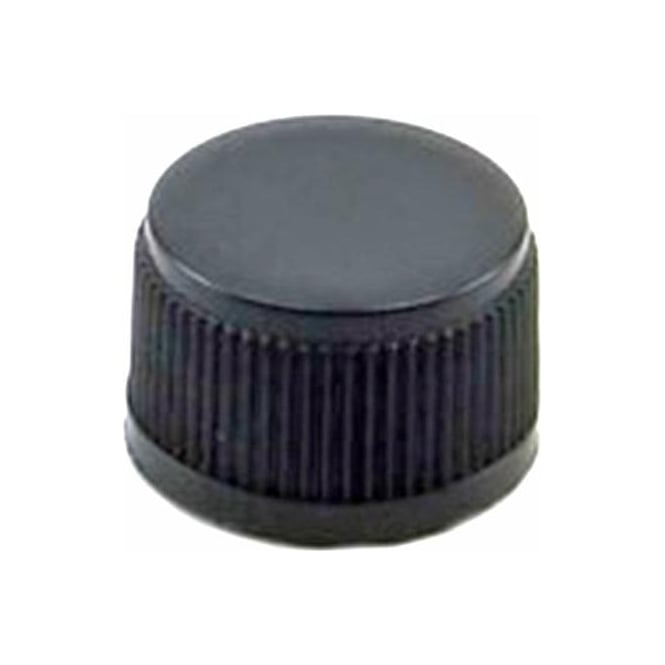 18mm Black Cap with EPE Liner (Fits Blue 100ml Bottle)