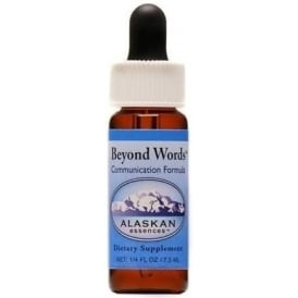 Alaskan Beyond Words 'Inner/Outer Expression' Combination Flower Essence Oral Formula 7.5ml (Stock)
