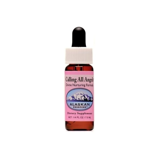 Alaskan Calling all Angels Combination Flower Essence Oral Formula 7.5ml (Stock)