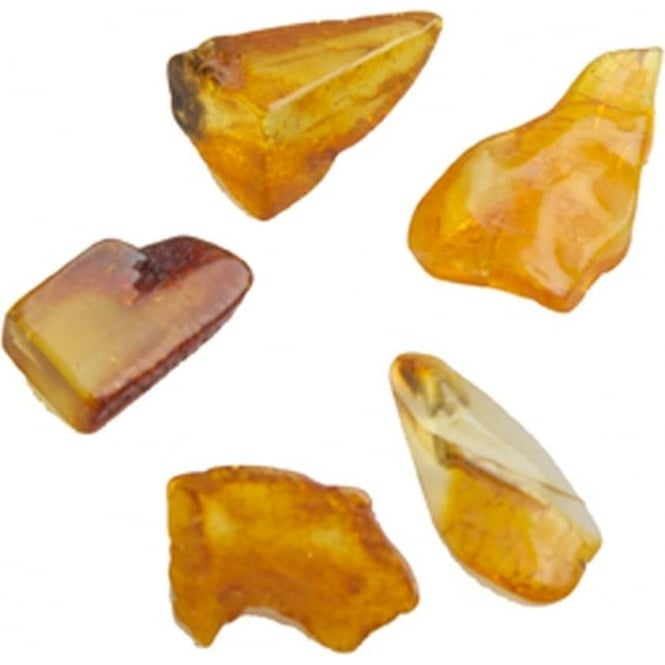 Amber - Draw Out Negativity, Purification, Romance (S)