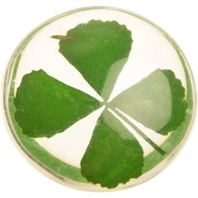 Angel Star Lucky Four Leaf Clover Stone (3cm)