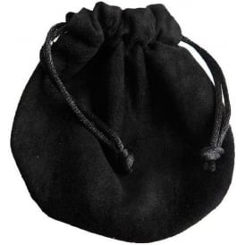 Black Velvet Pouch 50mm-70mm (Sold Individually)