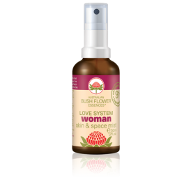 Bush Flower Organic Women Essence Mist Spray 50ml - Female Balance