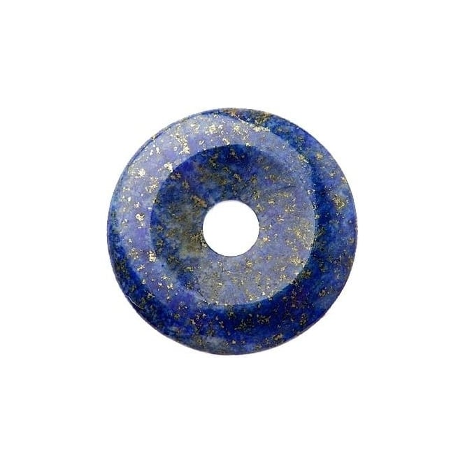Munay Ki Pi Stone Donut - Natural Blue Lapis 50mm