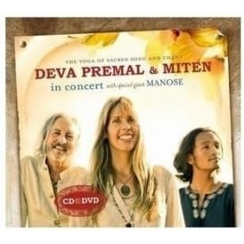 Deva Premal & Miten 'In Concert' with special guest Manose (CD & DVD)
