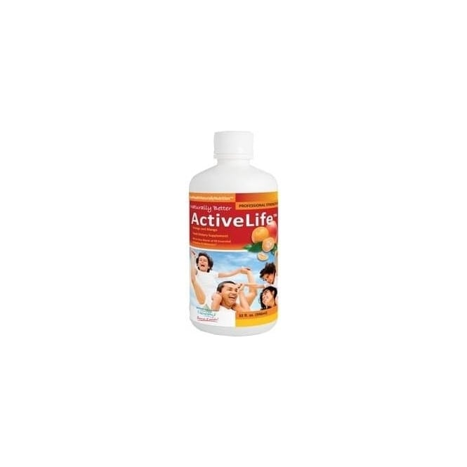 Good Health Naturally Active Life - A Daily Dose Of Liquid Vitamins And Minerals (32 servings)