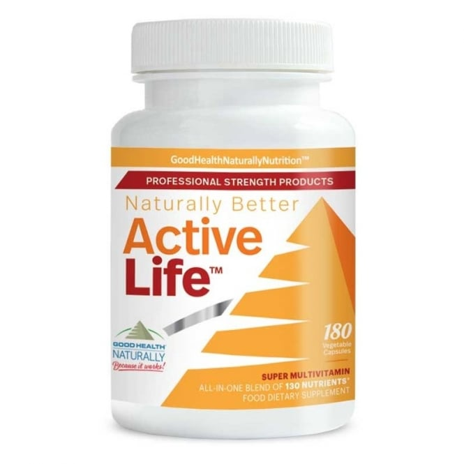 Good Health Naturally Active Life™ Capsules - 180 capsules