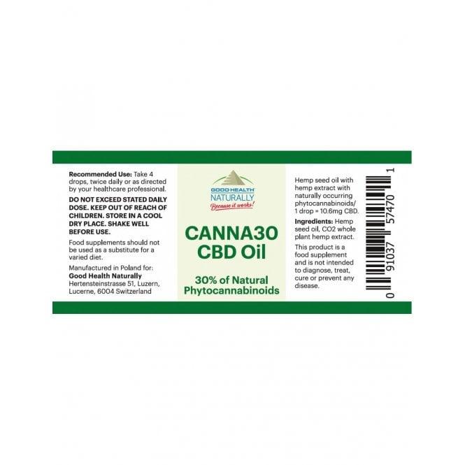 CANNA30 CBD oil 30% (10g)
