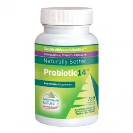 Good Health Naturally Probiotic14™ - Friendly Bacteria For Healthy Digestion 120 caps