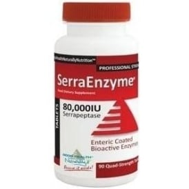 Good Health Naturally Serra Enzyme™ 80,000IU (90 Tabs)