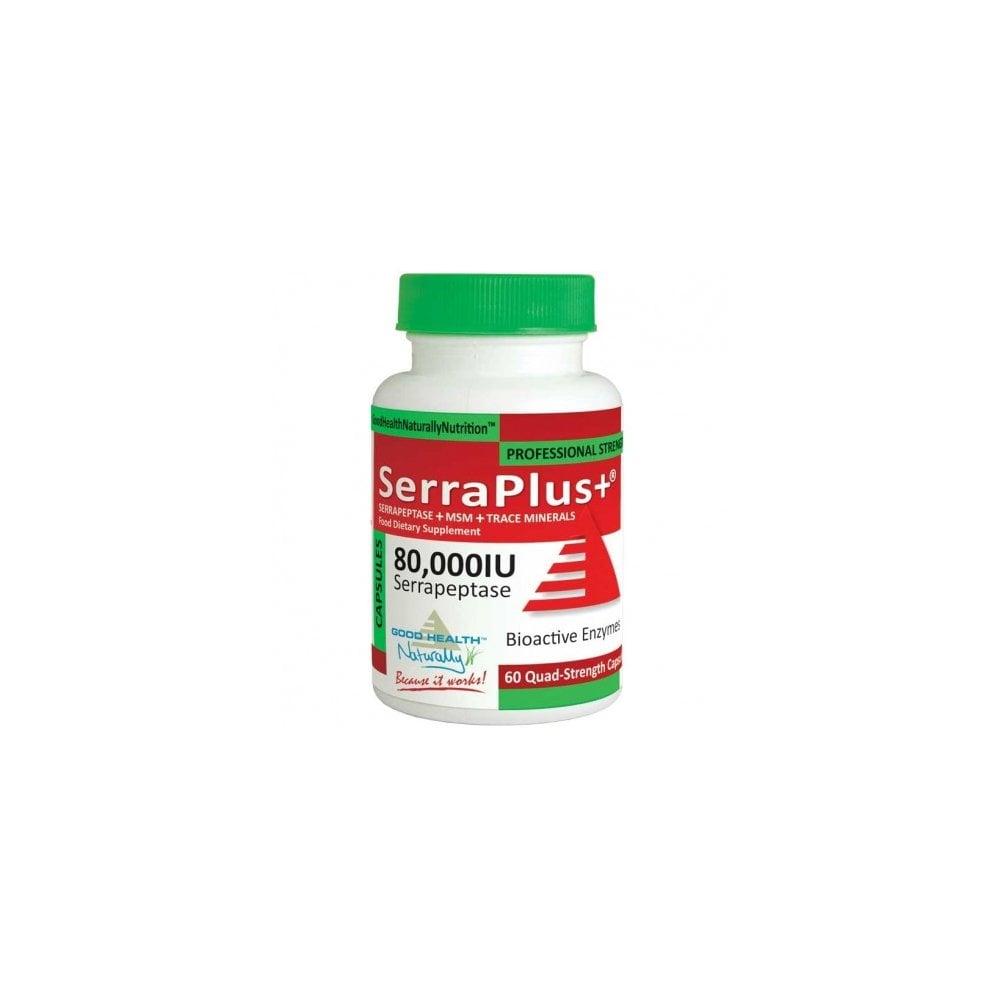 Good Health Naturally Serraplus 80 000iu 60 Capsules