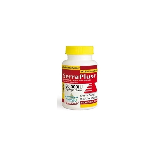 Good Health Naturally SerraPlus+™ 80,000IU 60 Tablets