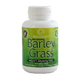 Lifestream Organic Barley Grass 120 Caps