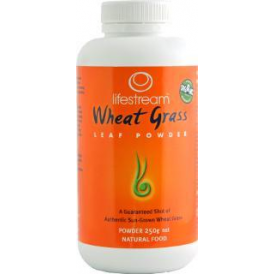 Lifestream Organic Wheat Grass (250g Powder)