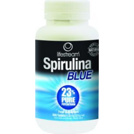 Lifestream Spirulina Blue 500 Tabs