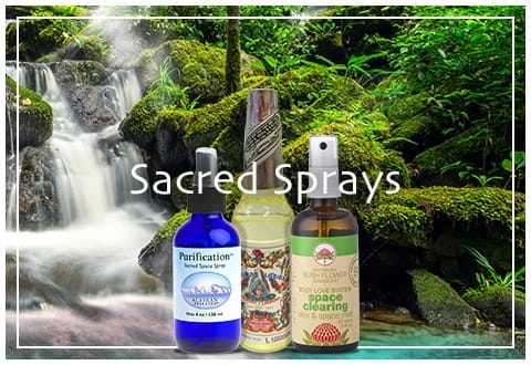 Sacred Sprays, Incense & Offerings