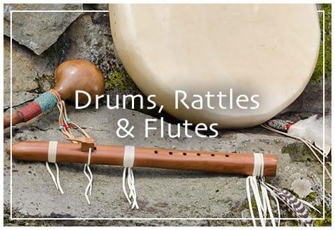 Drums, Rattles & Flutes