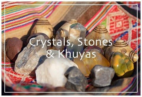 Crystals, Stones & Khuyas
