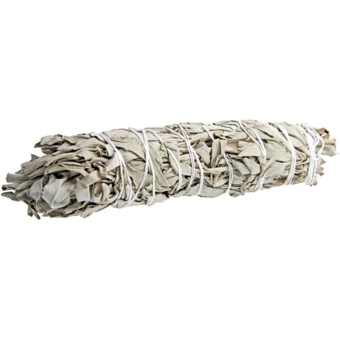 Native American Indian Californian White Sage Smudge Wand 7-8