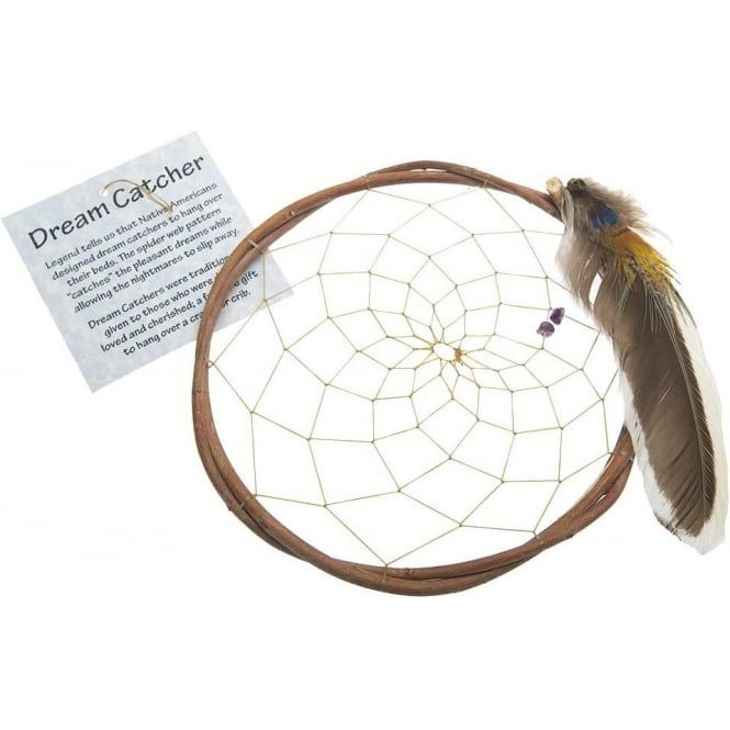 Native American Indian Native American Apache Willow Dream Catcher 5