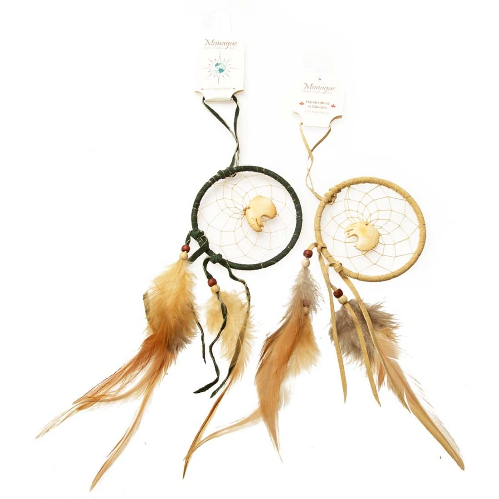 Eagle Feather Dream Catcher Native American Indian Dream Catcher With Eagle Totem 40 Tan 21