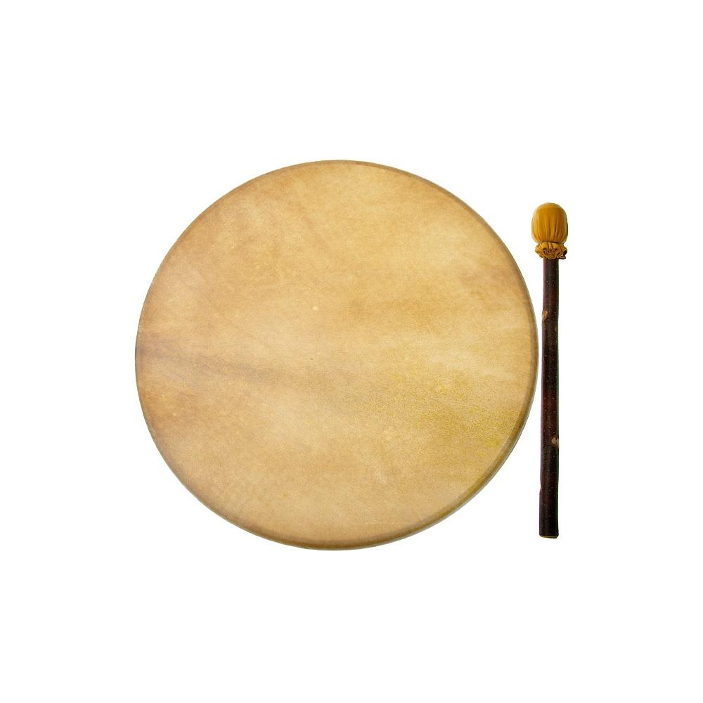 north west native indian lakota 18 natural elk skin drum. Black Bedroom Furniture Sets. Home Design Ideas