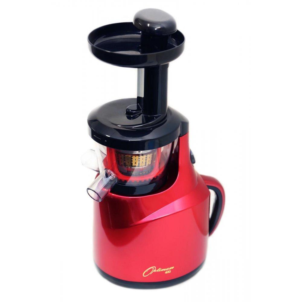 Slow Juicer Nut Butter : Optimum Appliances OPTIMUM 400 Revolutionary COLD PRESS, SLOW JUICER- Red