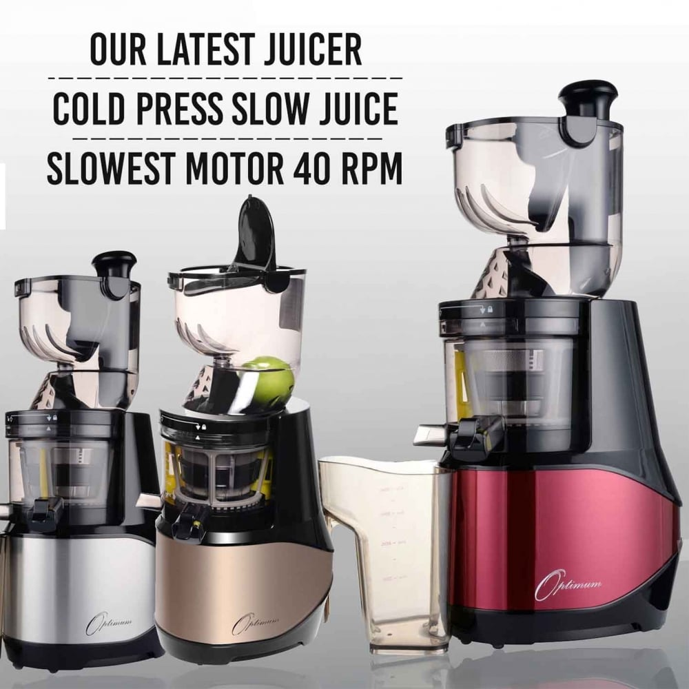 Slow Juicer Optimum 700 : Optimum Appliances Optimum 700 Advanced Cold Press Juicer The Ultimate Slow Juicer Collection ...