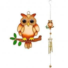Owl Wind Chime - Small 53cm