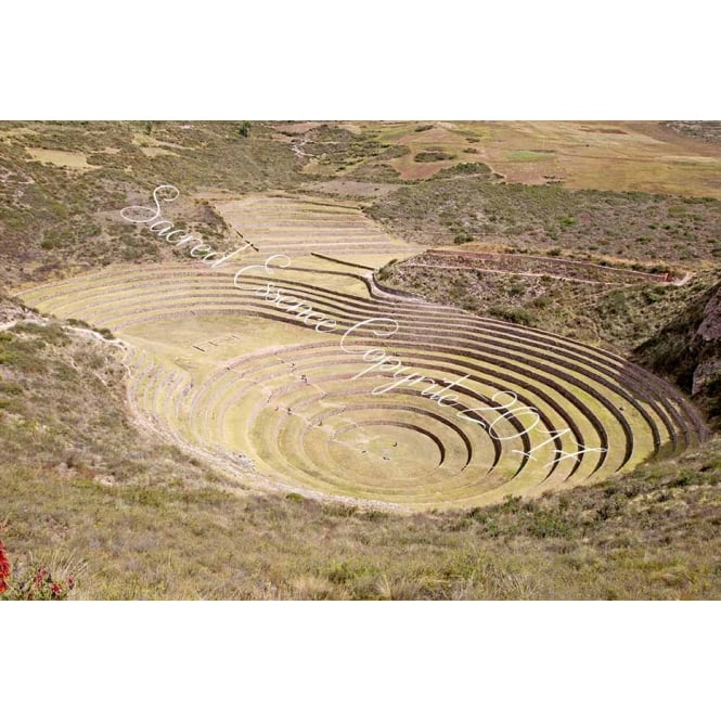 Peru - Moray - Temple of the The Pachamama Sacred Valley 1