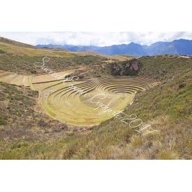 Peru - Moray - Temple of the The Pachamama Sacred Valley 2