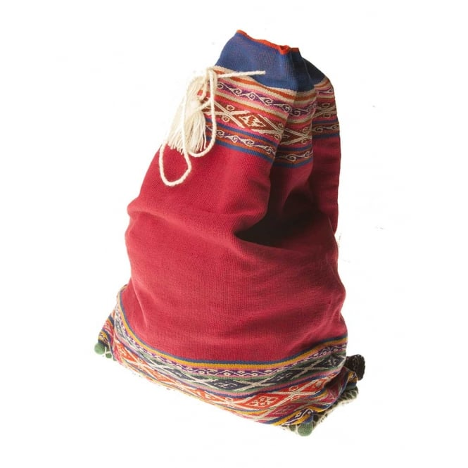 Peruvian Andean Backpack Wool (RUC44)