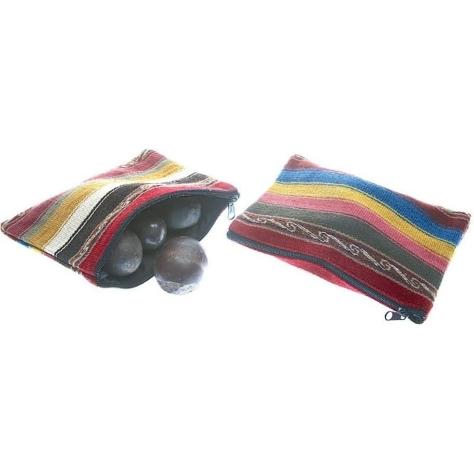 Peruvian Andean Coloured Medicine Purse/Bag PER20 Sold Indvidually