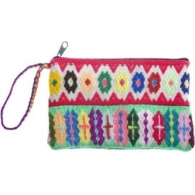 Andean Coloured Medicine Purse/Bag PER4