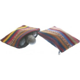 Andean Shaman Coloured Medicine Purse/Bag PER2 Sold Individually2