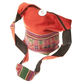 Peruvian Orange Shoulder Bag Uni-Sex (SH-ORG-102)