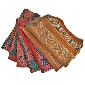 Qero Shaman Paqos Mestana Cloths - Group/ Class Selection (Varied Designs - Sold Individually)