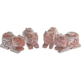 Shaman Handcrafted Four Directions Andean Pachamama Spirit Stone - Jaguar Spirit