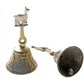 Peruvian Shaman Sacred Llama Bell - Wealth & Vitality (s) (Mixed Designs sold individually)