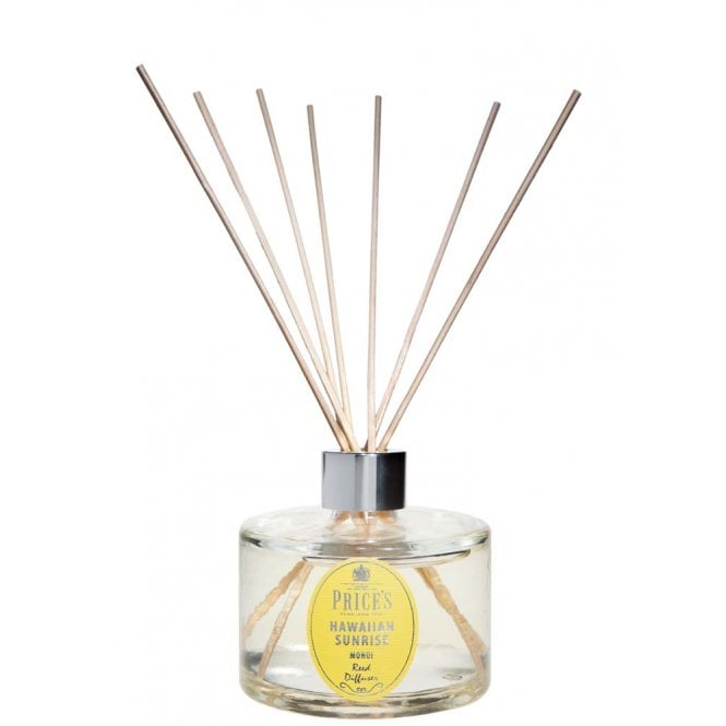 Price's British Quality Candle Makers Luxury Hawaiian Sunrise Signature Reed Diffuser 250ML (LARGE)