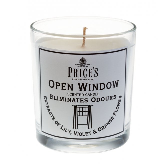 Price's British Quality Candle Makers Open Window - Eliminates Odours 45 Hours