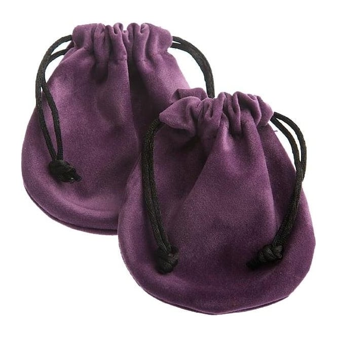 Purple Velvet Pouch 50mm-70mm (Sold Indivually)