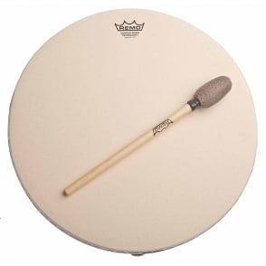 "Remo 16"" Buffalo Synthetic Skin Drum (With Comfort Sound Technology)"