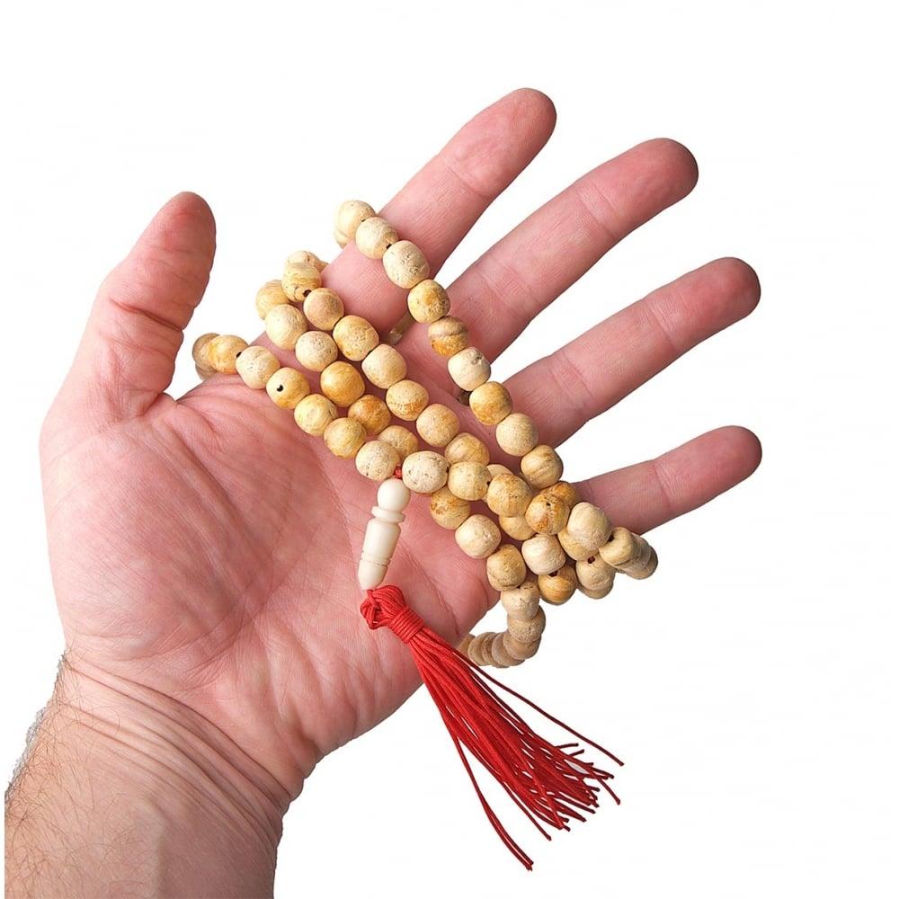 Sandalwood Mala 108ct 8mm Bead Necklace