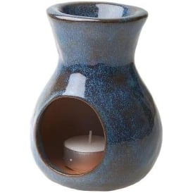 Hand Made Chimenea Oil Burning Censer Blue Green Turk (13cm)