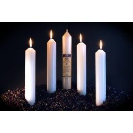 Peace Candle - Infused (White) 12