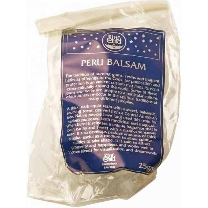 Star Child Peru Balsam Sacred Herb' Resin 25g