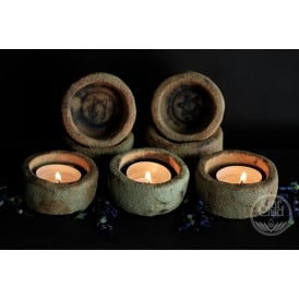 Tea Light Holder Rustic