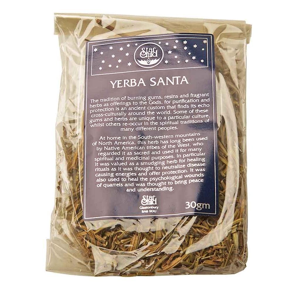 Star Child Yerba Santa Sacred Herb Incense 30g Sacred