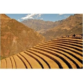 Terraces of Pisac Sacred Site - Peru